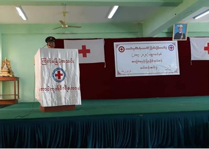 Taunggoke University 2019-2020 Academic Year Basic First Aid Training Red Cross Society (10-2-2020 to 18-2-2020)